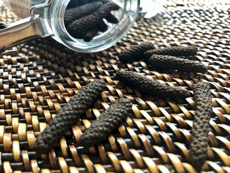 Long pepper, a warmer, softer, spicier flavoured spices