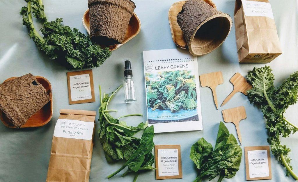 Organic items that help you grow micro-greens