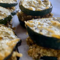 zucchini sliders baked