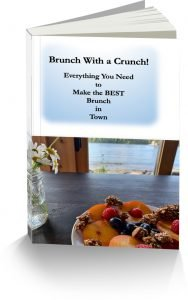 Book with Brunch with a Crunch on the cover