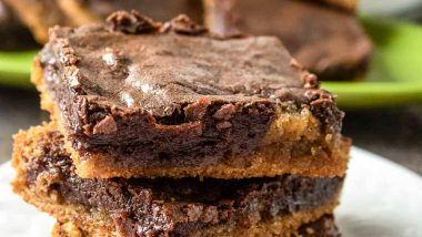 Chocolate Almond Butter Brownies