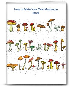 Paperback cover for How to Make Your Own Mushroom Stock