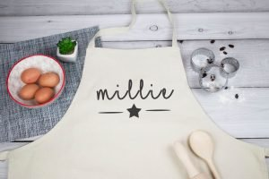 Kids personalized apron - gift