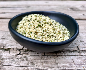 Hemp hearts come from the cannabis hemp plant and used as food