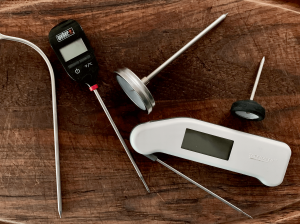 Meat thermometers test for doneness suitable for all meat, fish and seafood