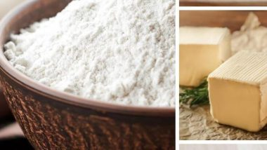 DIY Bisquick Mix, an easy blend of flour, sugar, salt, baking powder, and butter is a quick way to make many other recipes