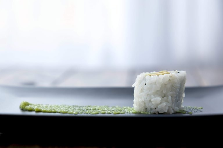 Enjoy sushi rolls with less carbs when you cook your rice in a Smart Carb cooker
