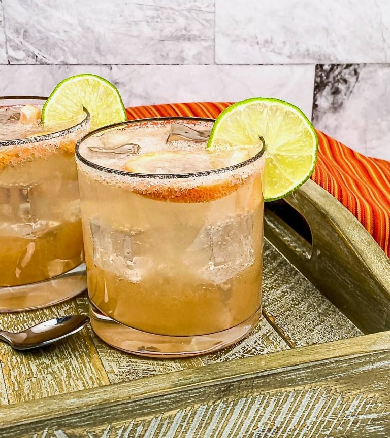 Sparkling Paloma is made with pink grapefruit juice, tequila, lime and refreshing soda