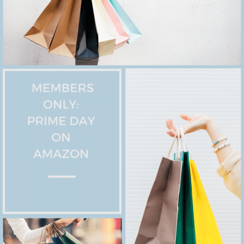 Amazon has a huge shopping day with deals once a year and it's called Prime Day