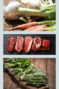 Typical vegetables, herbs, and meats you can vacuum seal