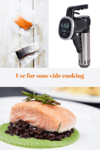 Use a vacuum sealer for sous vide cooking