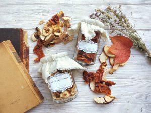 Keep homemade dried fruit fresh in a vacuum sealer for seasonal gifts